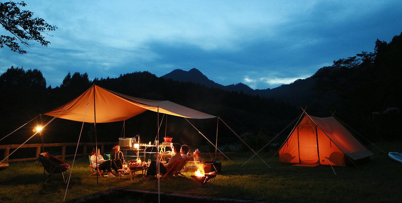 秋のキャンプイベント開催