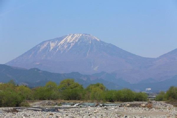 日光の霊峰「男体山」山開き