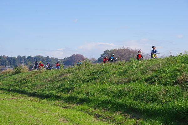 チャリ旅初めての小山開催。サイクリングロードを駆け抜けろ!!