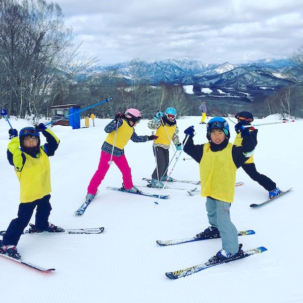スキー教室 それぞれの成長