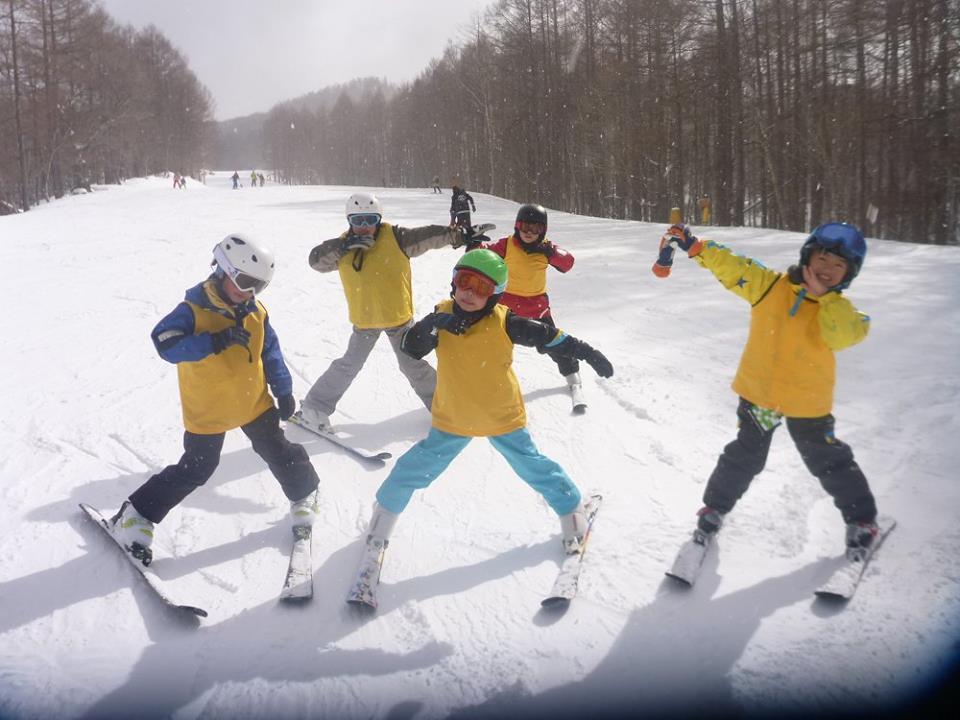 2回目のスキー教室